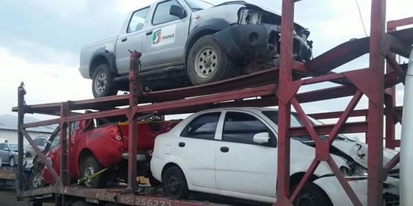 Transporte vehículos en panne y siniestrados